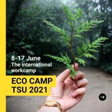 Международный волонтерский эко-лагерь #ECOCAMPTSU