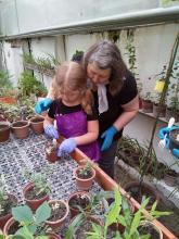 Волонтёры Сибирского ботанического сада ТГУ
