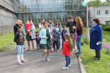 Сибирский ботанический сад весело отметил детский праздник