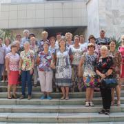 Организаторы и гости выставки